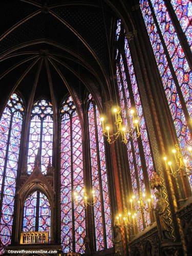Sainte Chapelle - Chapelle Haute stained glass