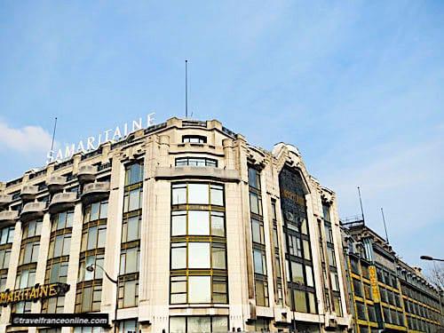 La Samaritaine Art Deco facade on riverside