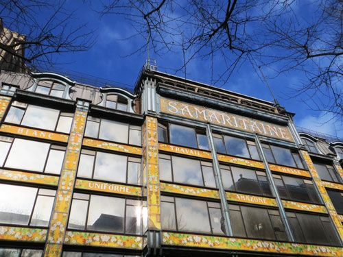 La Samaritaine Art Nouveau facade