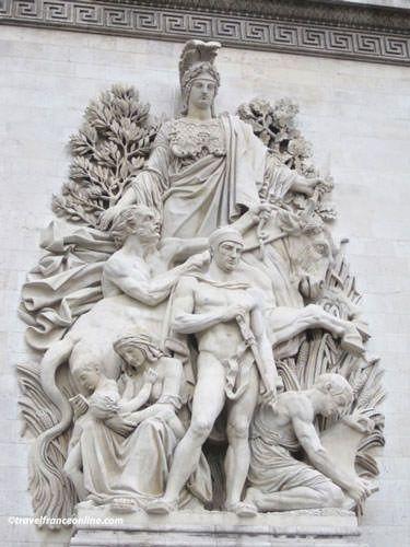 La Paix de 1815 on Arc de Triomphe