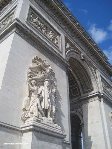 Le Triomphe de 1810 on Arc de Triomphe