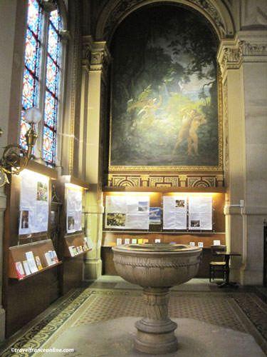 La Trinite Church - Baptismal Font Chapel