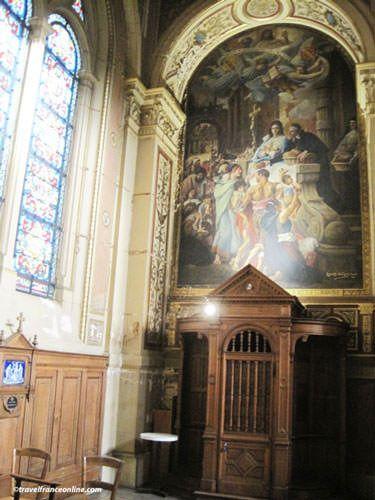La Trinite Church - Confessionnal
