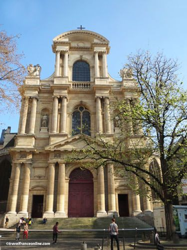Saint Gervais Saint Protais Church - Main facade with three orders