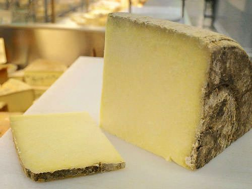 Laguiole cheese, one of the ingredients for Aligot