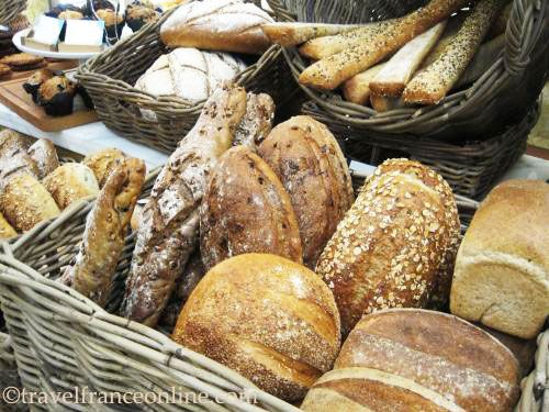A selection of brown bread
