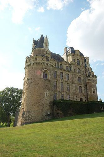 Chateau de Brissac - Gothic tower