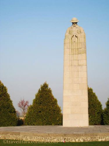 Brooding Soldier Canadian Memorial WWI