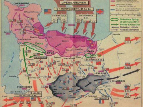 Operation Cobra - Normandy invasion