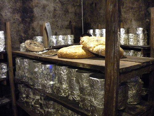 Roquefort cave