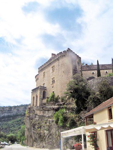 Château de Cabrerets in the Cele Valley