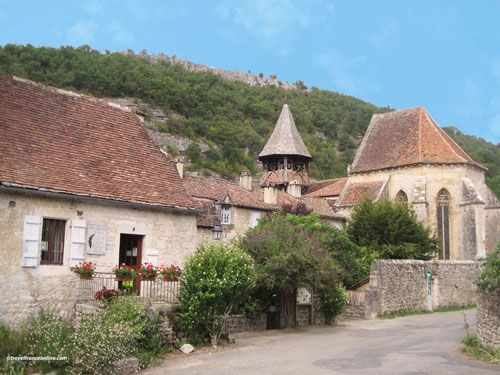 Sainte Eulalie d'Espagnac in the Cele Valley