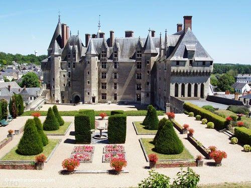 Chateau de Langeais and formal gardens