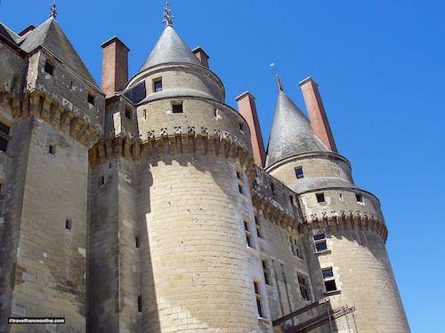 Chateau de Langeais' drawbridge