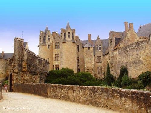 Chateau de Montreuil Bellay - Barbican and Vieux Château