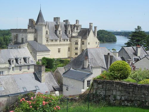 Chateau de Montsoreau and village