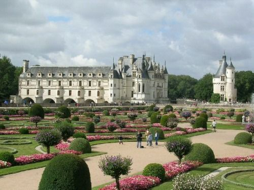 Chateau de Chenonceau - Gardens