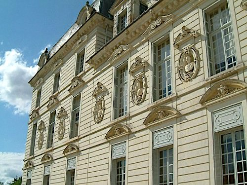 Chateau de Cheverny - Detail architecture