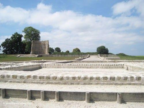 Corseul - Former entrance to Temple de Mars enclosure