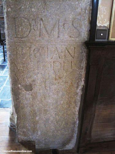 Corseul - Stele of Silicia