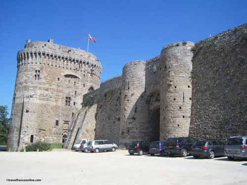 Chateau de Dinan and fortifications