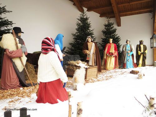 Epiphany - The Three Wise Men presenting Baby Jesus with gifts