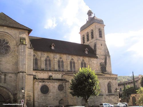 Saint-Sauveur Church in Figeac