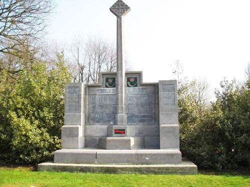 Hill 60 Ypres Salient - 14th Light Division Memorial