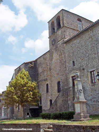 Knights Templar Commanderies in Aveyron - Saint-Jean d'Alcas