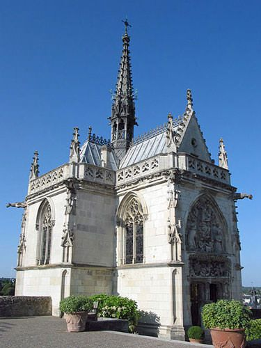 Amboise Castle - Chapelle Saint-Hubert