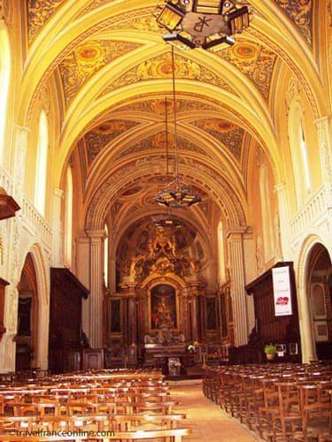 Lautrec in Tarn - Saint-Remy Collegiate Church