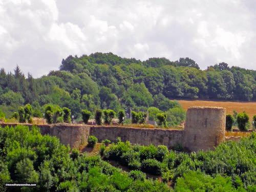 Lehon castle today