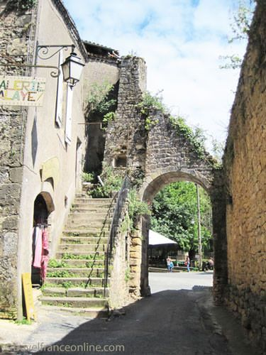 Porte du Port in Limeuil