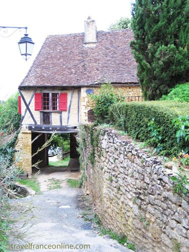 Medieval building in Limeuil