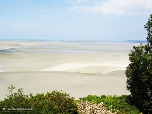 Baie du Mont St Michel at low tide