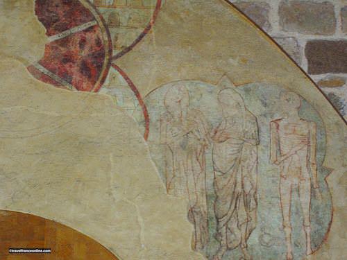 Mont St Michel - Medieval murals