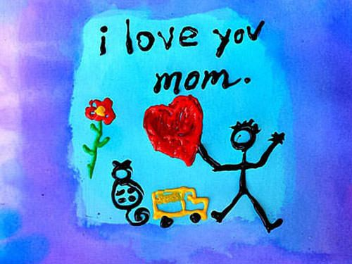 Happy Mothers Day drawing