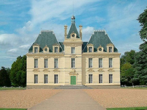 Chateau de Cheverny - Chateau de Moulinsart