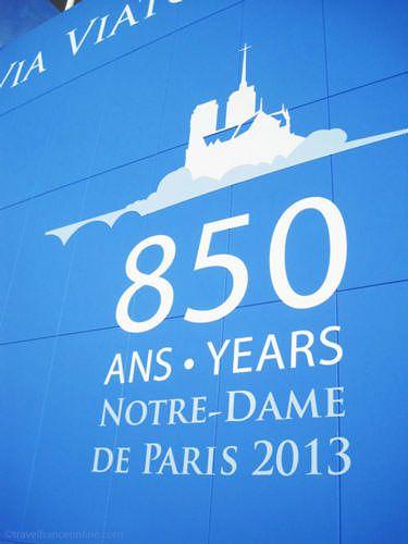 Notre Dame Cathedral - Chemin du Jubile 2013