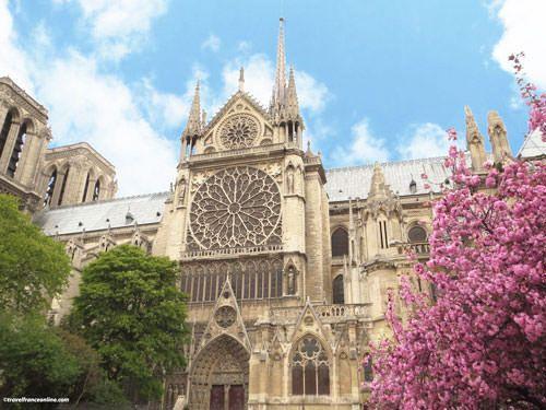 Notre Dame Cathedral - Portal Saint-Etienne