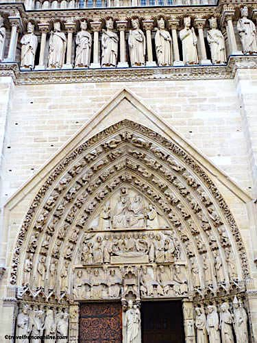 Notre Dame Cathedral - Portal of the Virgin