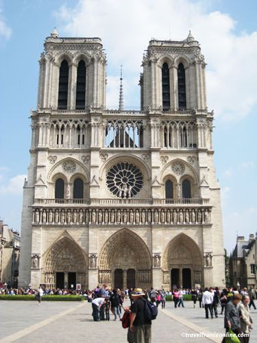 Notre Dame Cathedral and square