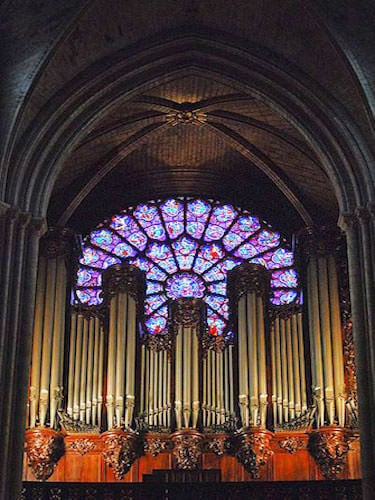 Notre Dame Cathedral - Great organ