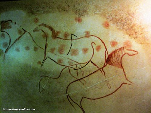Pech Merle Cave - Cave paintings - Horses