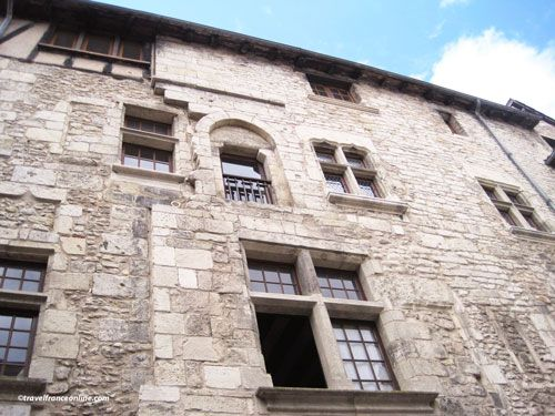 Puy St Front district - Medieval building