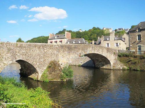 Port de Dinan Lanvallay - medieval bridge