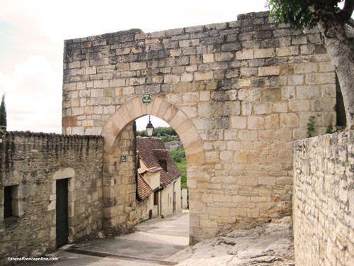 Porte de l'Hospitalet in Rocamadour
