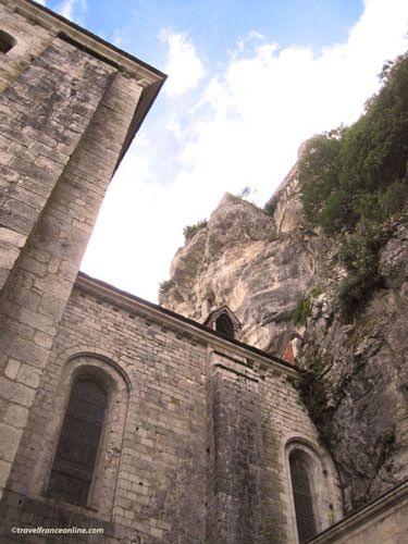 Saint-Sauveur Church in Rocamadour