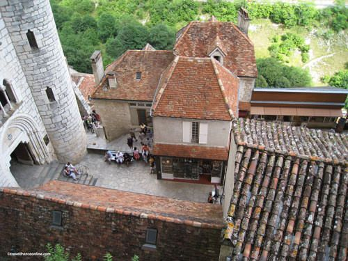 Inside the episcopal city of Rocamadour