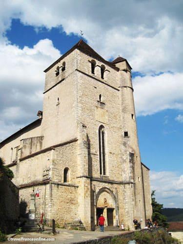 Saint Cirq Lapopie - Saint-Cirq Church